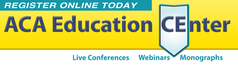 ACA Education CEnter webinars on-demand CE