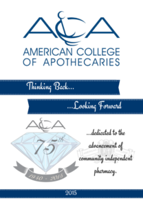 ACA 75th Anniversary Book