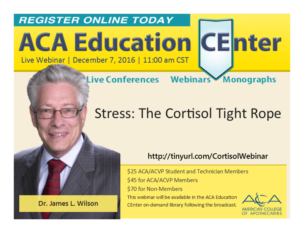 Stress: The Cortisol TIghtrope