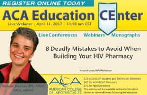 LIVE Webinar: 8 Mistakes to Avoid When Building Your HIV Pharmacy