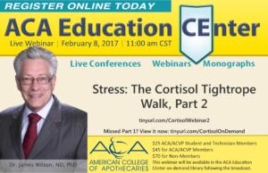 LIVE Webinar–Stress: The Cortisol Tightrope Walk, Part 2