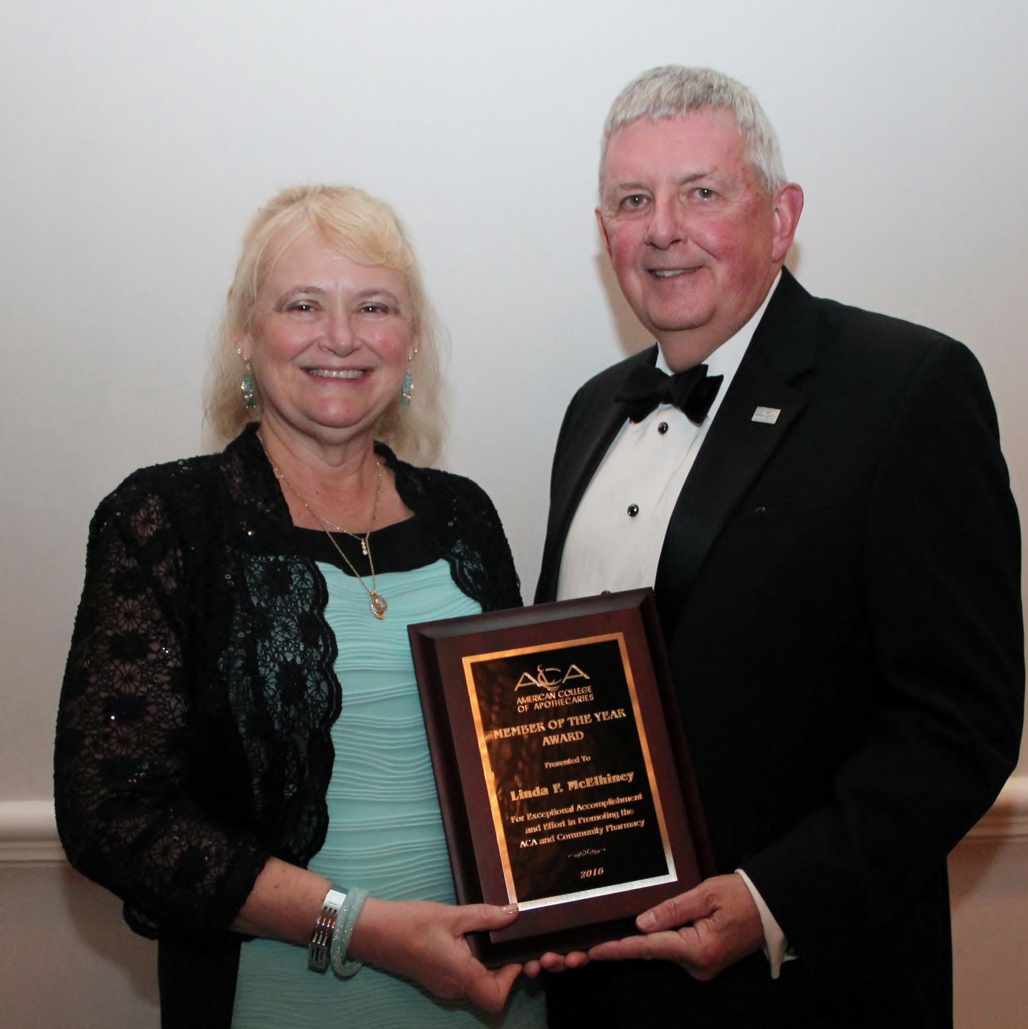 2015 ACA Member of the Year Linda McElhiney