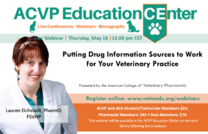 LIVE Webinar: Transdermal Compounding - Addressing Veterinarian and Client Questions and Developing a Formulation