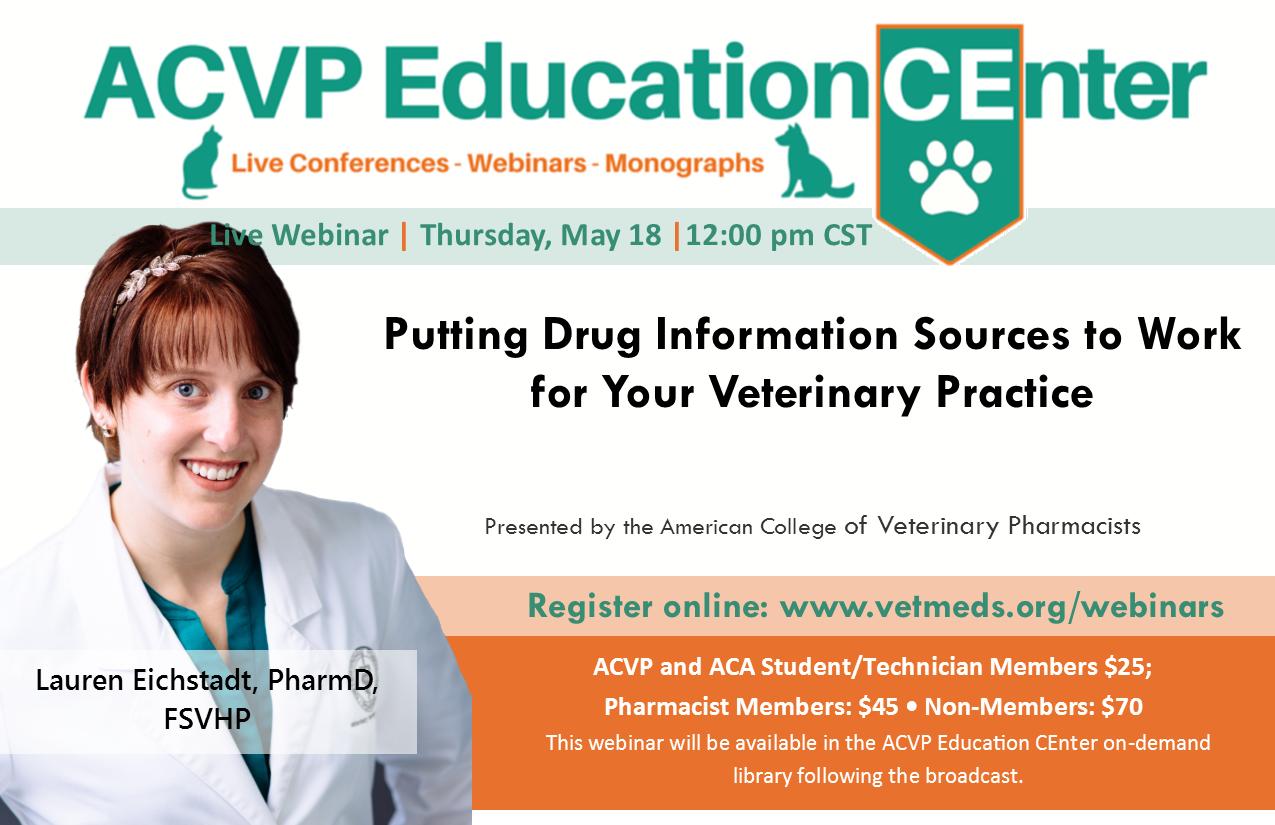 live webinar putting drug information sources to work for your independent pharmacy - Drug Information Pharmacist