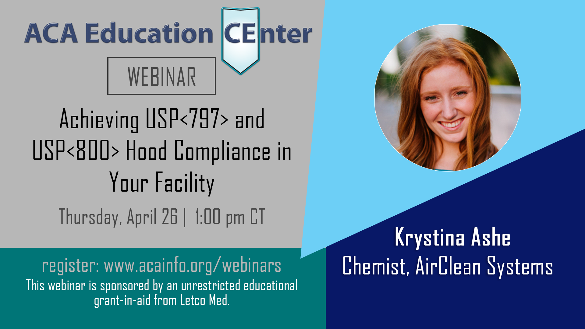 WEBINAR: Achieving USP<797> and USP<800> Hood Compliance in Your Facility