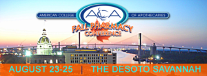 Fall Pharmacy Conference @ DeSoto Hotel | Savannah | Georgia | United States