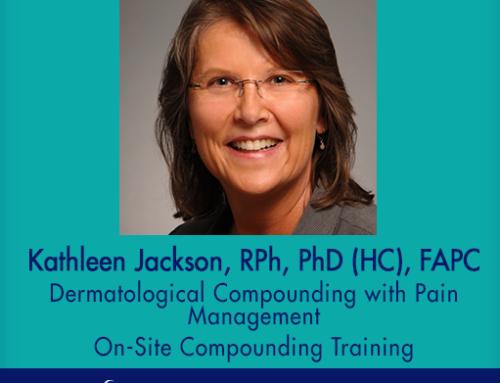 ACA Welcomes New Dermatological Compounding Training Instructor, Kathleen Jackson