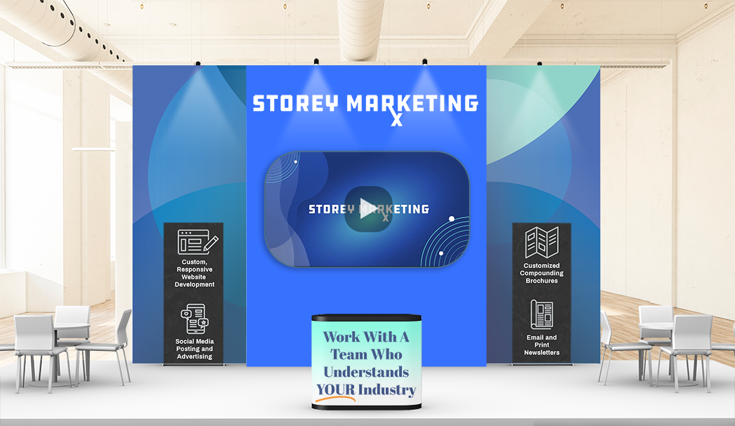 Storey Marketing Booth